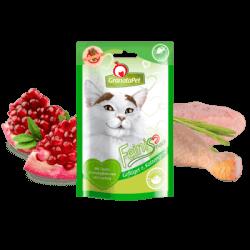 家禽肉和猫草