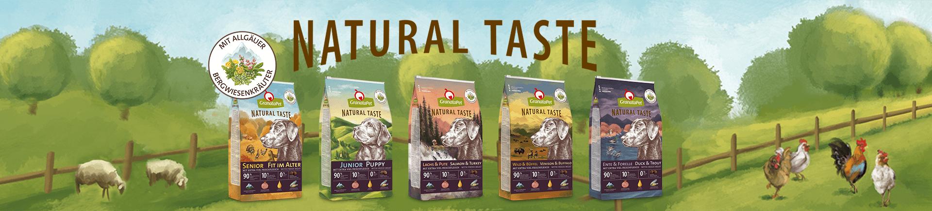 Banner_Natural Taste